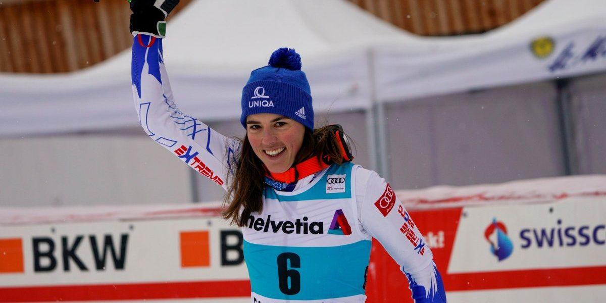 f21ccc24e Petra Vlhová útočila na víťazstvo v paralelnom slalome, skončila ...